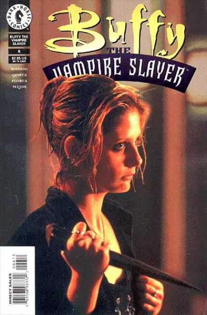Buffy the Vampire Slayer 6 - Wet Hair - Holding Stake - Clensing Fist - Number 6 - Buffy - Arthur Adams