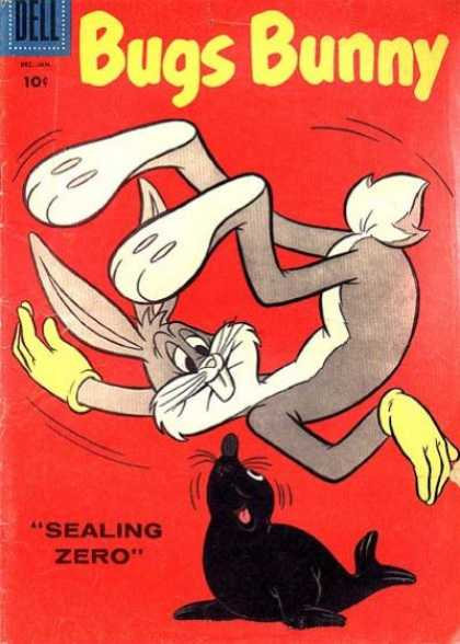 Bugs Bunny 58 - Dell - Sealing - Zero - Jan - Moushtache