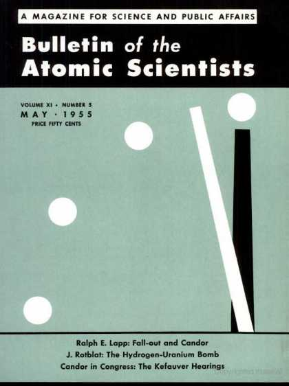 Bulletin of the Atomic Scientists - May 1955