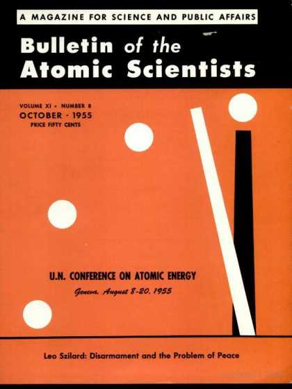 Bulletin of the Atomic Scientists - October 1955