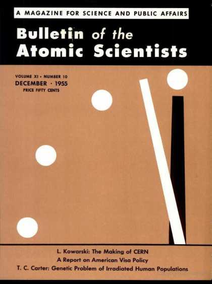 Bulletin of the Atomic Scientists - December 1955