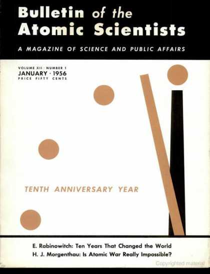 Bulletin of the Atomic Scientists - January 1956