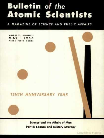 Bulletin of the Atomic Scientists - May 1956