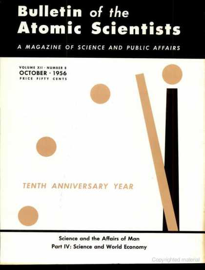 Bulletin of the Atomic Scientists - October 1956
