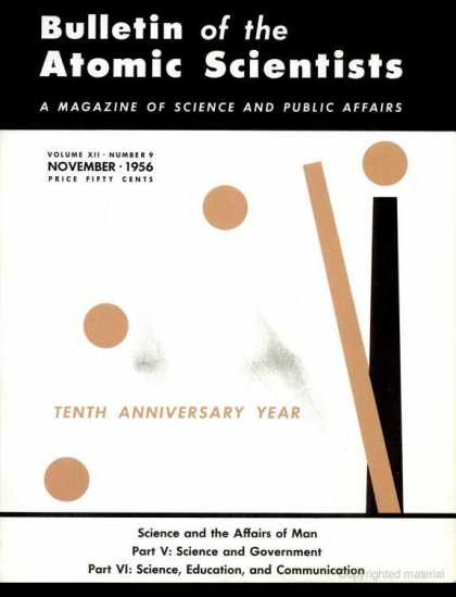 Bulletin of the Atomic Scientists - November 1956