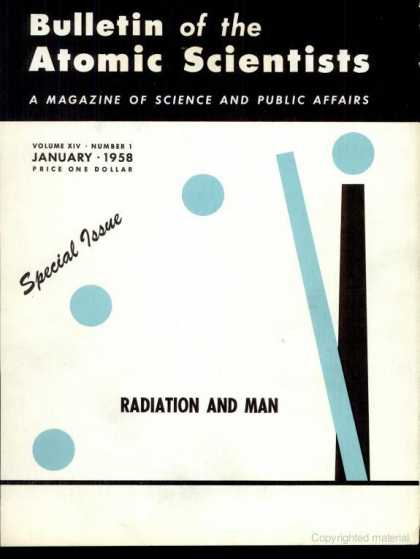 Bulletin of the Atomic Scientists - January 1958