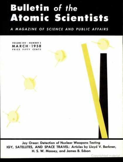 Bulletin of the Atomic Scientists - March 1958