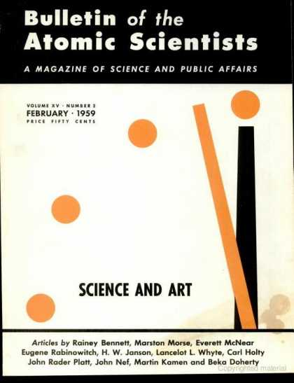 Bulletin of the Atomic Scientists - February 1959