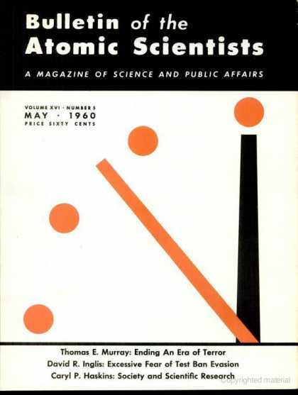 Bulletin of the Atomic Scientists - May 1960