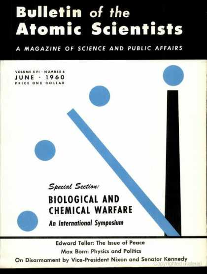 Bulletin of the Atomic Scientists - June 1960