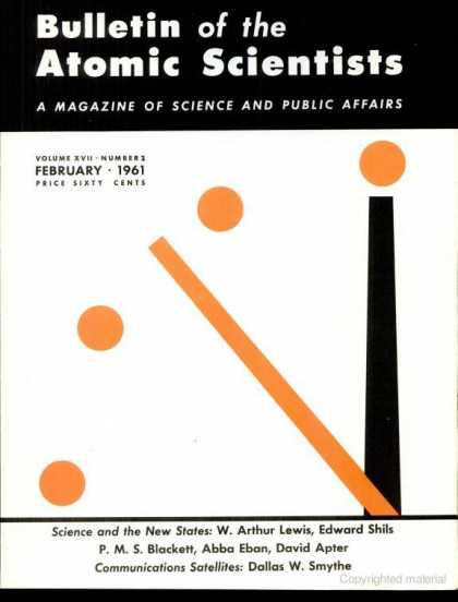 Bulletin of the Atomic Scientists - February 1961