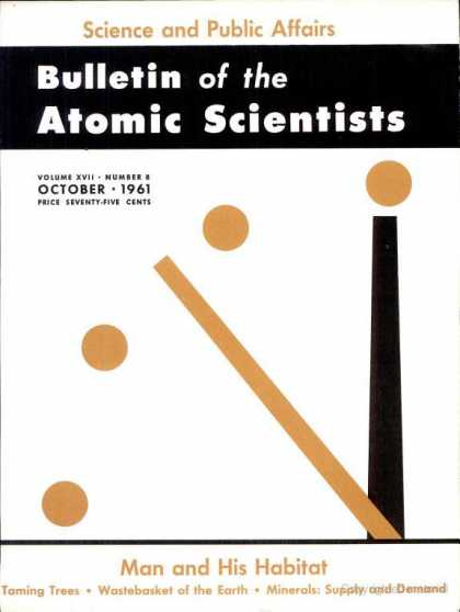 Bulletin of the Atomic Scientists - October 1961