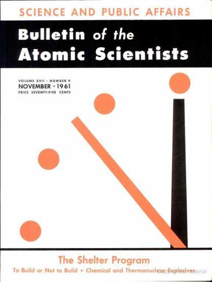 Bulletin of the Atomic Scientists - November 1961