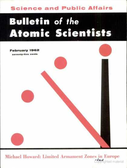 Bulletin of the Atomic Scientists - February 1962