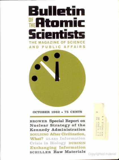 Bulletin of the Atomic Scientists - October 1962