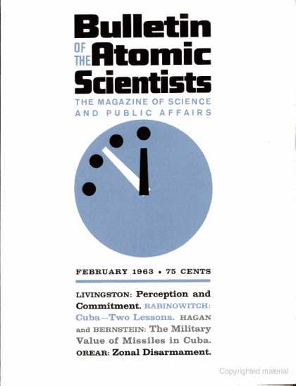 Bulletin of the Atomic Scientists - February 1963