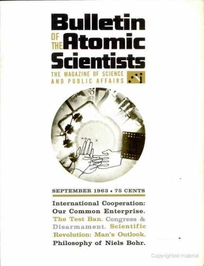 Bulletin of the Atomic Scientists - September 1963