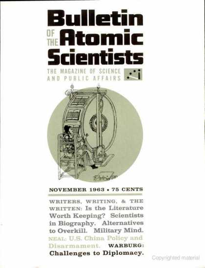 Bulletin of the Atomic Scientists - November 1963