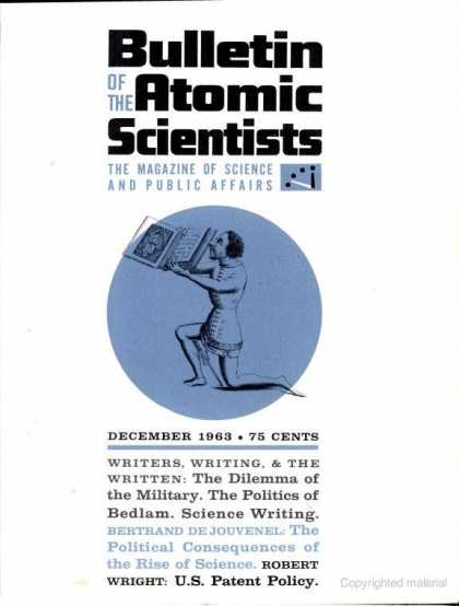 Bulletin of the Atomic Scientists - December 1963