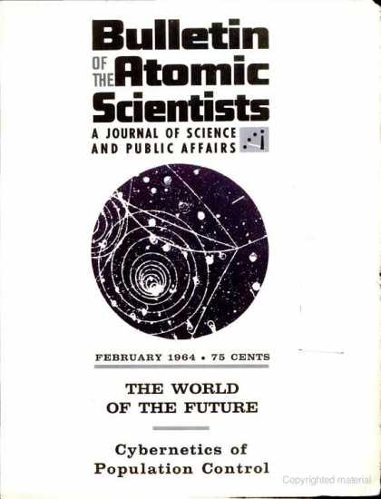 Bulletin of the Atomic Scientists - February 1964