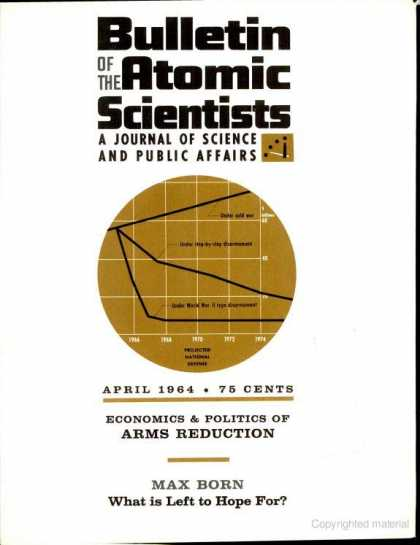 Bulletin of the Atomic Scientists - April 1964