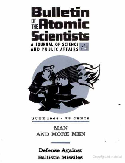 Bulletin of the Atomic Scientists - June 1964