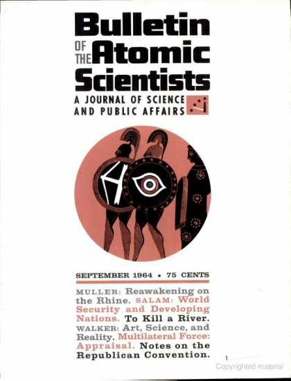 Bulletin of the Atomic Scientists - September 1964