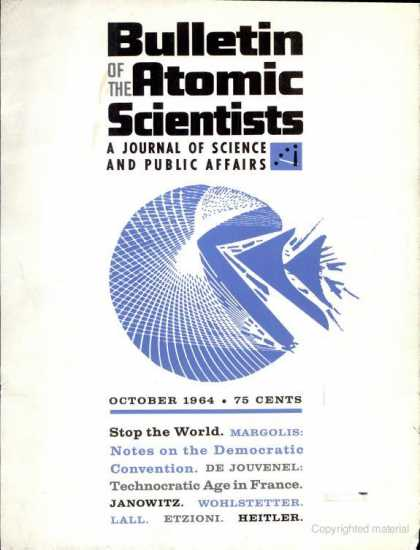 Bulletin of the Atomic Scientists - October 1964
