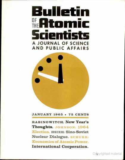 Bulletin of the Atomic Scientists - January 1965