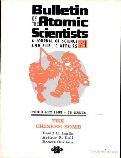 Bulletin of the Atomic Scientists - February 1965