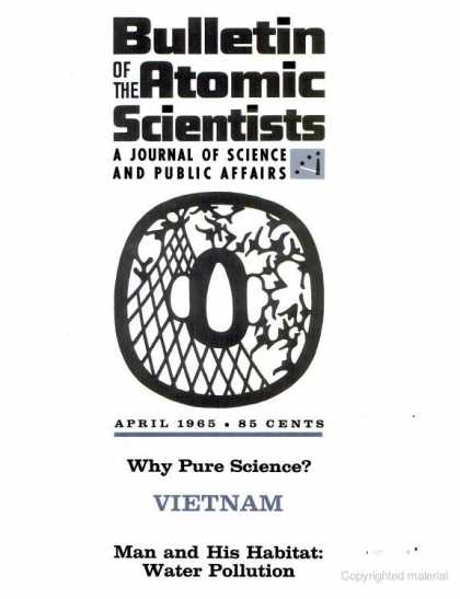 Bulletin of the Atomic Scientists - April 1965