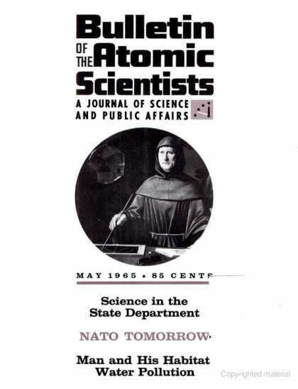 Bulletin of the Atomic Scientists - May 1965