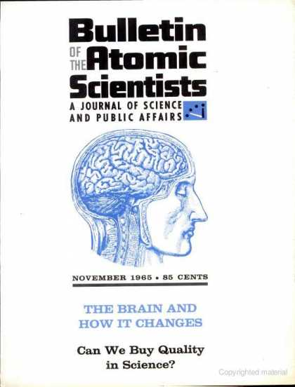 Bulletin of the Atomic Scientists - November 1965