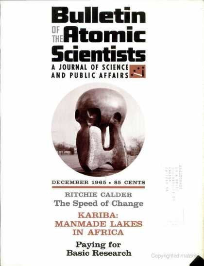 Bulletin of the Atomic Scientists - December 1965