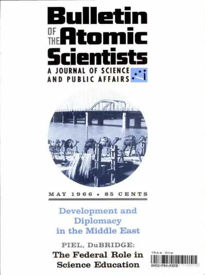 Bulletin of the Atomic Scientists - May 1966