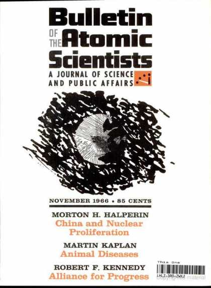 Bulletin of the Atomic Scientists - November 1966