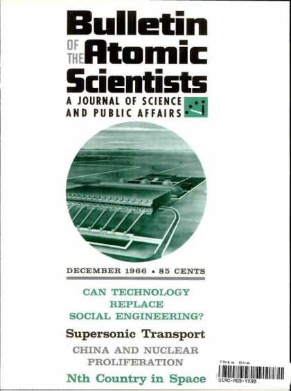 Bulletin of the Atomic Scientists - December 1966