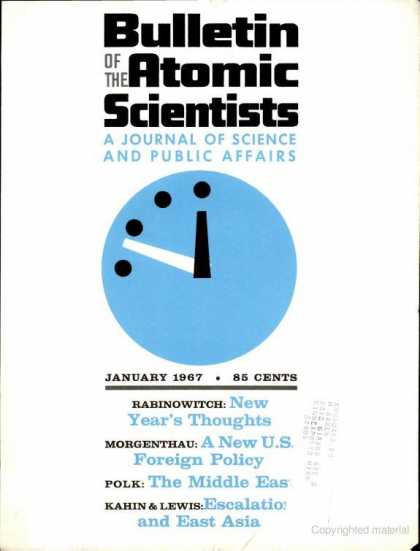 Bulletin of the Atomic Scientists - January 1967