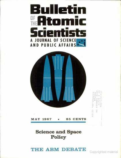 Bulletin of the Atomic Scientists - May 1967