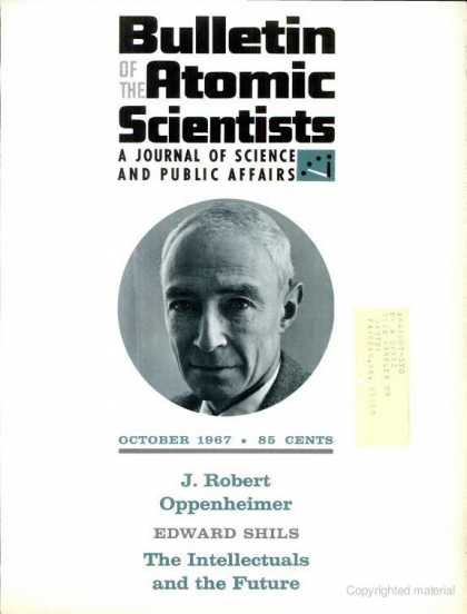Bulletin of the Atomic Scientists - October 1967