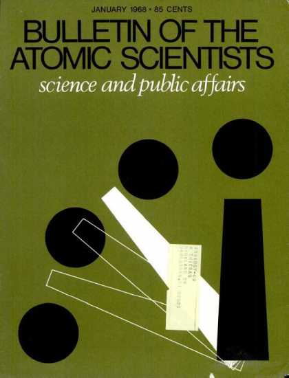 Bulletin of the Atomic Scientists - January 1968