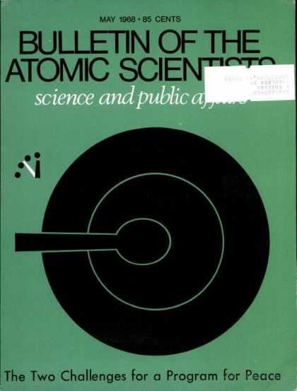 Bulletin of the Atomic Scientists - May 1968