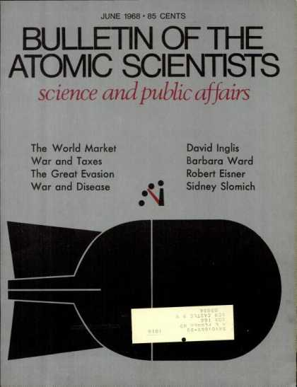Bulletin of the Atomic Scientists - June 1968
