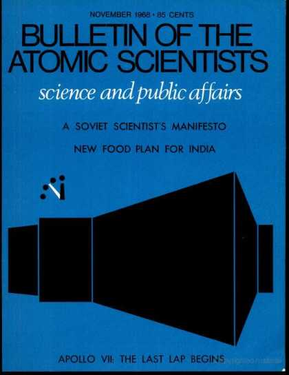 Bulletin of the Atomic Scientists - November 1968
