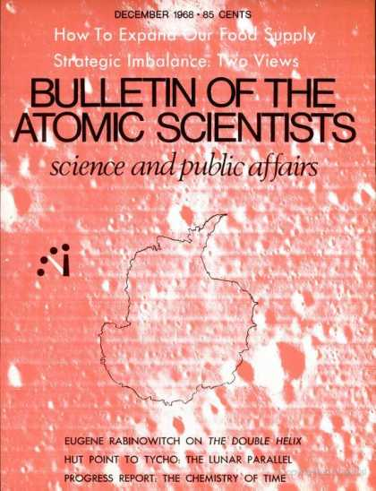 Bulletin of the Atomic Scientists - December 1968