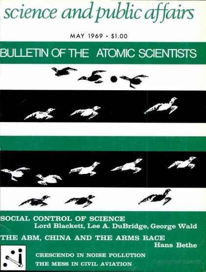 Bulletin of the Atomic Scientists - May 1969