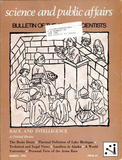Bulletin of the Atomic Scientists - March 1970