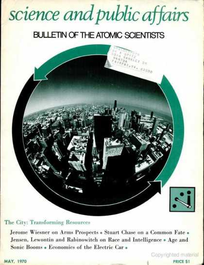 Bulletin of the Atomic Scientists - May 1970