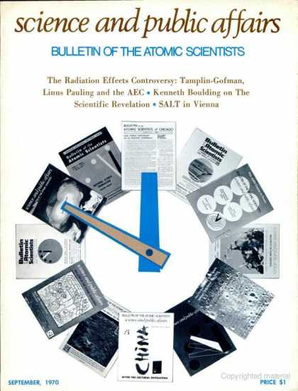 Bulletin of the Atomic Scientists - September 1970