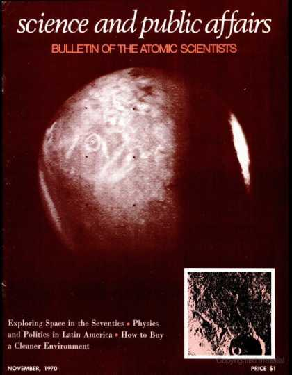 Bulletin of the Atomic Scientists - November 1970